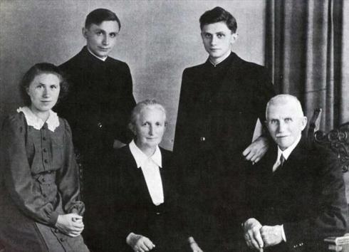 Zdjęcie rodziny Ratzinger